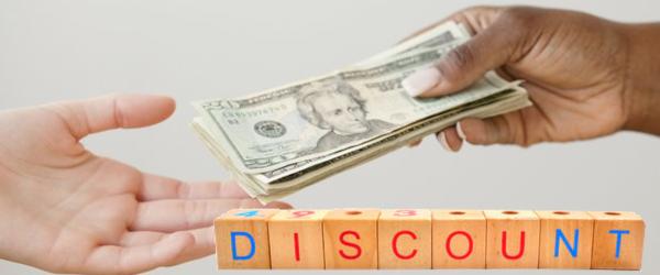 Cash Discount Processing